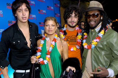 The Black Eyed Peas, Julian Casablancas, Fabrizio Moretti, and Will.i.am at 50 First Dates (2004)