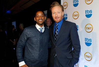 Will Smith and Conan O'Brien