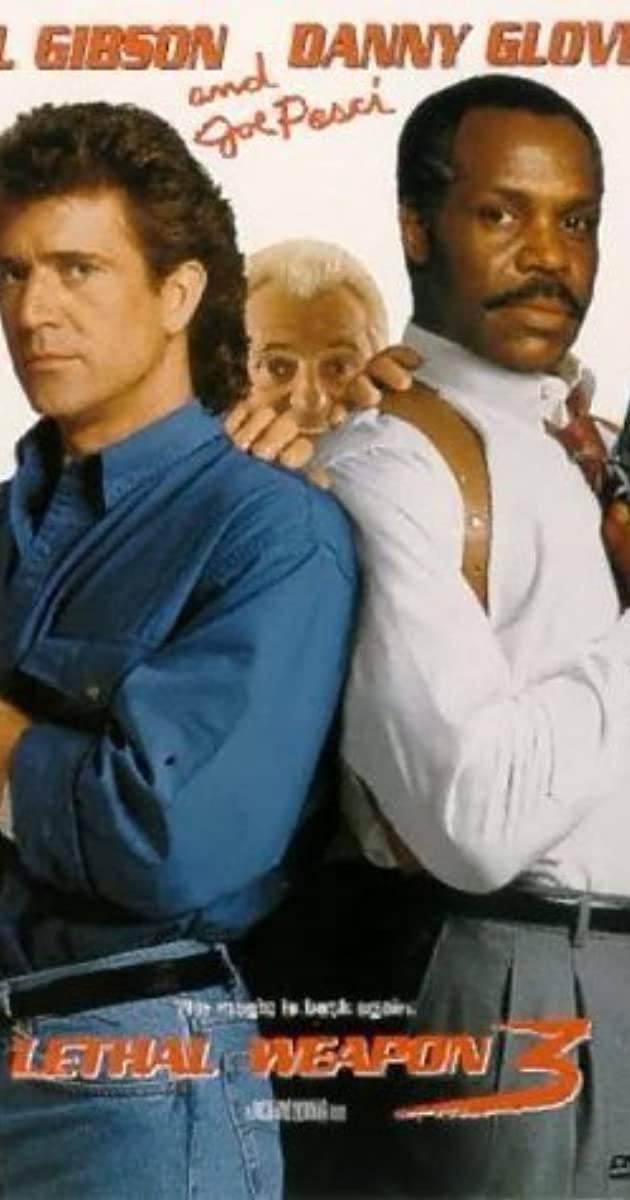 Lethal Weapon 3 Cast