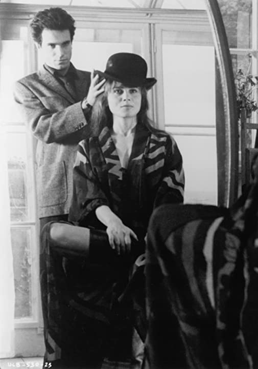 Daniel Day-Lewis and Lena Olin in The Unbearable Lightness of Being (1988)
