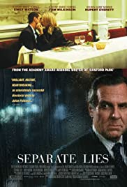 Separate Lies (2005) Poster - Movie Forum, Cast, Reviews