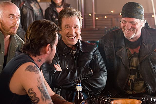 Ray Liotta, Tim Allen, Kevin Durand, and M.C. Gainey in Wild Hogs (2007)