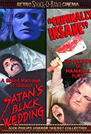Satan's Black Wedding Poster