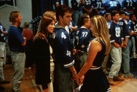 James Van Der Beek, Ali Larter, and Amy Smart in Varsity Blues (1999)