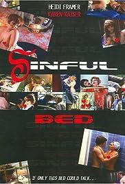 Das sündige Bett Poster