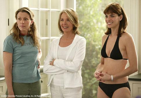 Diane Keaton, Frances McDormand, and Amanda Peet in Something's Gotta Give (2003)