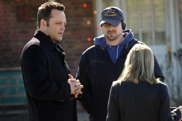 Vince Vaughn, Reese Witherspoon, and Seth Gordon in Four Christmases (2008)