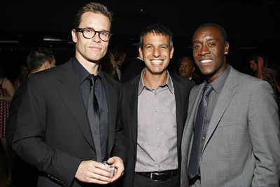 Don Cheadle, Guy Pearce, and Jeffrey Nachmanoff at Traitor (2008)