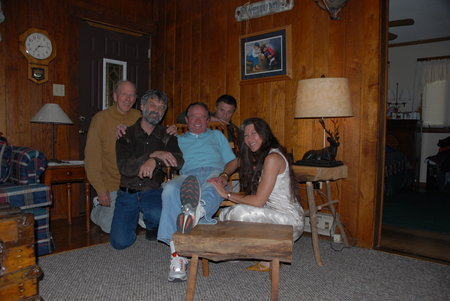 Behind the Scenes - A day off of filming with Rance Howard, Dean Teaster, Bill McKinney, Terence Knox, and Tammy Stephens Teaster for Ghost Town