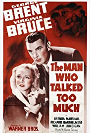 The Man Who Talked Too Much Poster