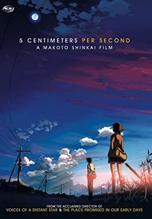 5 Centimeters Per Second poster