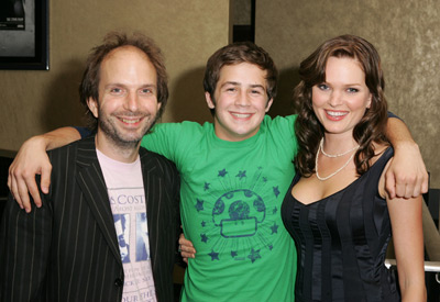 Michael Angarano, Alex Steyermark, and Sunny Mabrey at an event for One Last Thing... (2005)