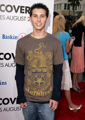 Justin Berfield at an event for Undiscovered (2005)