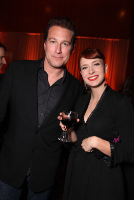John Corbett and Diablo Cody at United States of Tara (2009)