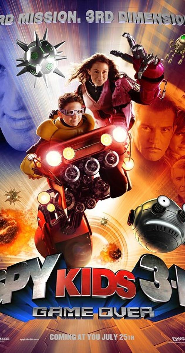 Spy Kids Movie Titles