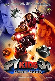 Spy Kids 3: Game Over Poster
