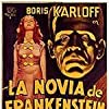 Boris Karloff, Elsa Lanchester, and Valerie Hobson in Bride of Frankenstein (1935)
