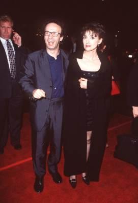 Roberto Benigni and Nicoletta Braschi at Life Is Beautiful (1997)