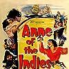 Louis Jourdan and Jean Peters in Anne of the Indies (1951)