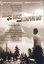 Color of a Brisk and Leaping Day (1996) Poster - Movie Forum, Cast, Reviews