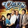 Kirstie Alley, Woody Harrelson, Ted Danson, Kelsey Grammer, John Ratzenberger, George Wendt, and Rhea Perlman in Cheers (1982)