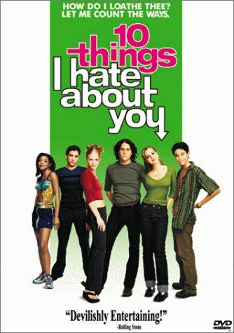 Andrew Keegan, Heath Ledger, Julia Stiles, Gabrielle Union, Susan May Pratt, Joseph Gordon-Levitt, David Krumholtz, and Larisa Oleynik in 10 Things I Hate About You (1999)
