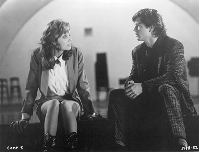 Eric Stoltz and Lea Thompson in Some Kind of Wonderful (1987)