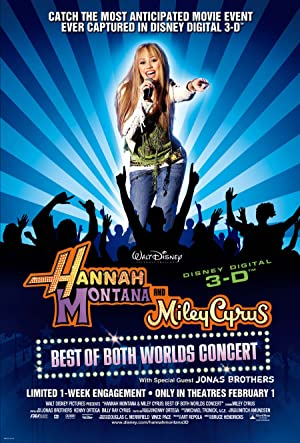 watch Hannah Montana and Miley Cyrus: Best of Both Worlds Concert full movie 720