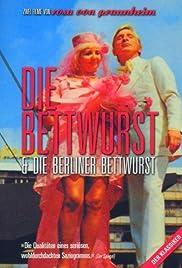Berliner Bettwurst Poster
