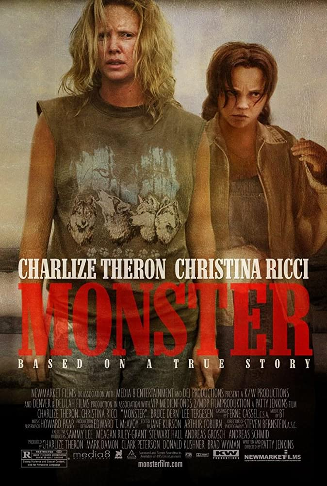 Christina Ricci and Charlize Theron in Monster (2003)