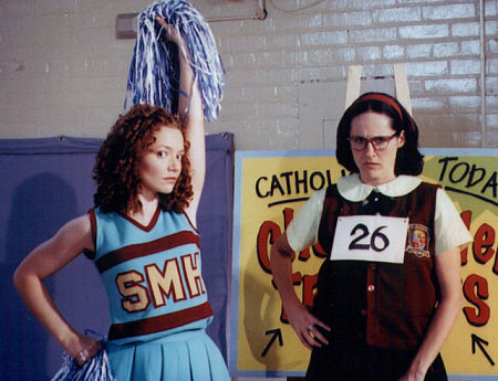 Karyn Dwyer and Molly Shannon in