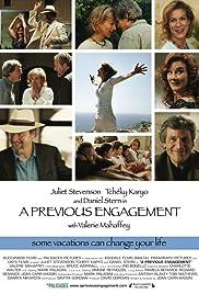 A Previous Engagement(2008) Poster - Movie Forum, Cast, Reviews