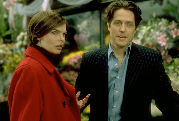 Michael & Gina in the flower shop