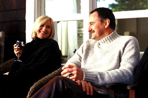 Yves Jacques and Dominique Michel in The Barbarian Invasions (2003)