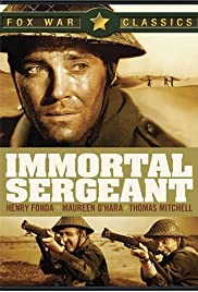 Immortal Sergeant (1943) Poster - Movie Forum, Cast, Reviews