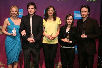 Casey Affleck, Marion Cotillard, James McAvoy, Ellen Page, and Amy Ryan