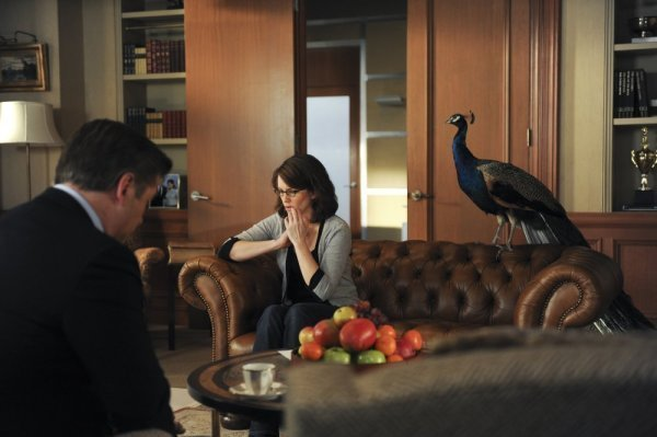 Alec Baldwin and Tina Fey in 30 Rock (2006)