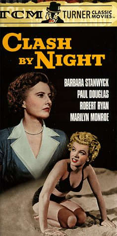Marilyn Monroe and Barbara Stanwyck in Clash by Night (1952)