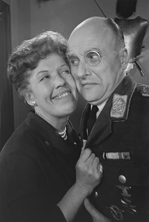 Kathleen Freeman and Werner Klemperer in Hogan's Heroes (1965)