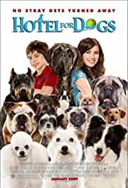 Hotel for Dogs (2009) BRRip 480p 300MB Dual Audio ( Hindi -English ) MKV