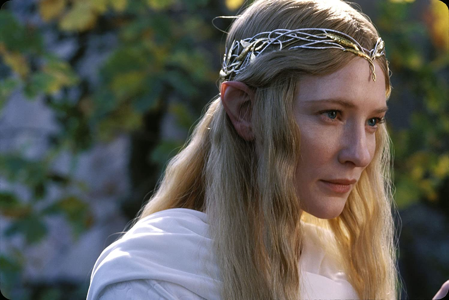 Cate Blanchett in The Lord of the Rings: The Fellowship of the Ring (2001)
