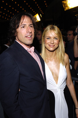 David O. Russell and Naomi Watts at I Heart Huckabees (2004)