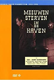 Meeuwen sterven in de haven Poster