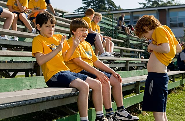 Grayson Russell, Zachary Gordon, and Robert Capron in Diary of a Wimpy Kid (2010)