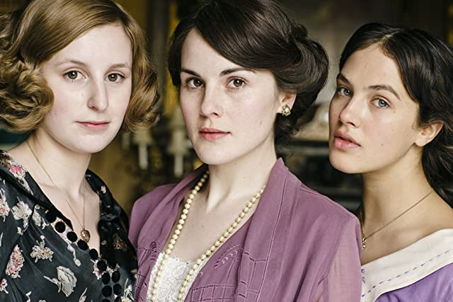 Michelle Dockery, Jessica Brown Findlay, and Laura Carmichael in Downton Abbey (2010)