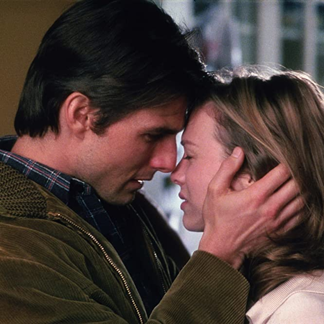Tom Cruise and Renée Zellweger in Jerry Maguire (1996)