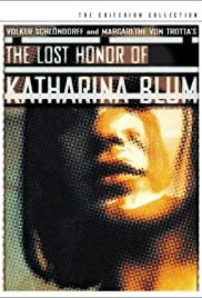 The Lost Honor of Katharina Blum (1975) Poster - Movie Forum, Cast, Reviews