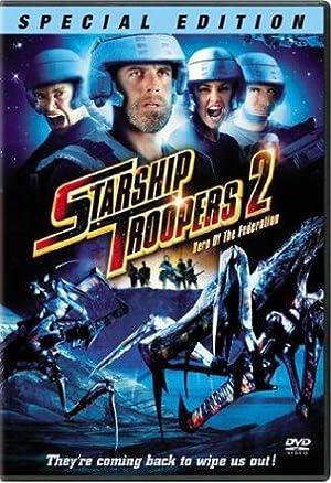 Poster Starship Troopers 2: Held der Föderation