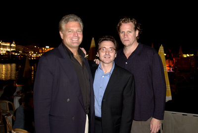 Al Corley, Eugene Musso, and Bart Rosenblatt at Scorched (2003)