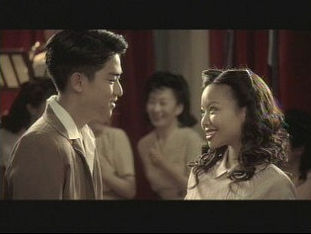 Derel Mio and Gina Hiraizumi in Day of Independence